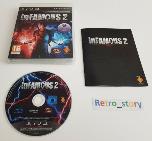 Sony Playstation PS3 - Infamous 2 - PAL