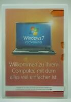 Microsoft Windows 7 Professional Pro 64 Bit Vollversion Deutsch