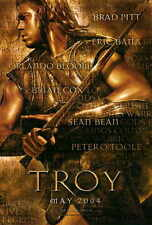 TROY Movie MINI Promo POSTER Brad Pitt Eric Bana Orlando Bloom