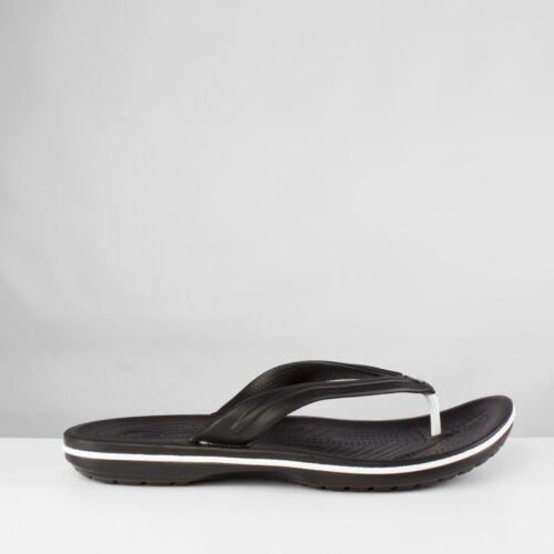 Crocs crocband flip unisexe hommes femmes summer comfy toe post flip flops noir