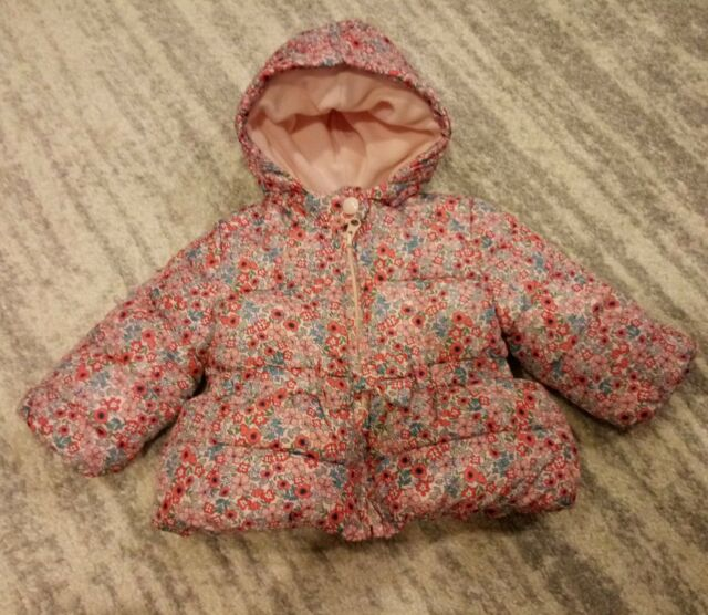 376acbe6d Baby Gap Girls Fleece Lined Coat. Size 12-18 Months