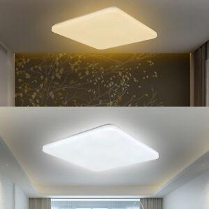 Design led ultraslim deckenleuchte wandlampe wohnzimmer flurleuchte deckenlampe ebay - Deckenleuchte wohnzimmer design ...