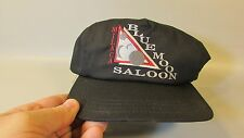 Milaca Minnesota Blue Moon Saloon Baseball Trucker cloth Cap Hat embroidered