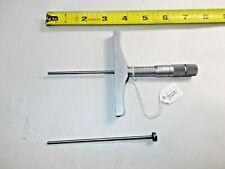 Brown Amp Sharpe Machinists No 608 1 2 Amp 3 4 001 Depth Micrometer Usa