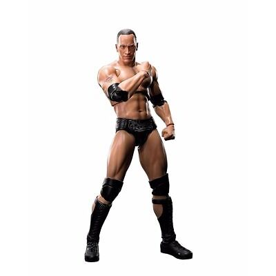 S.H.Figuarts WWE THE ROCK Action Figure BANDAI NEW from Japan F/S
