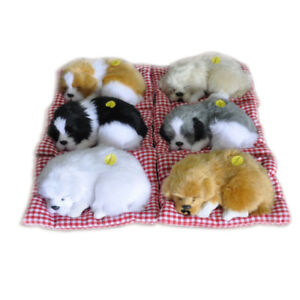 Cute-Simulation-Animal-Doll-Plush-Stuffed-Sleeping-Dog-Toy-with-Sound-Kids-Gift