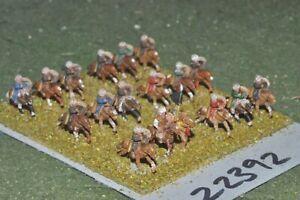 10 Mm Dark Ages/arabe-horse Archers 18 Figures-cavalerie (22392)-afficher Le Titre D'origine Promouvoir La Santé Et GuéRir Les Maladies