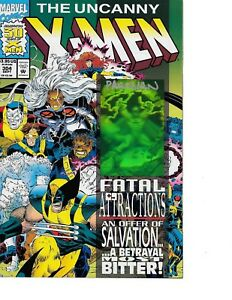Uncanny-X-Men-304-HOLOGRAM-ISSUE-signed-by-Dan-Panosian-NM