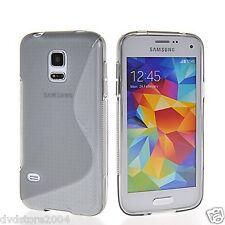 Custodia cover case gomma WAVE FUME per Samsung Galaxy S5 mini G800