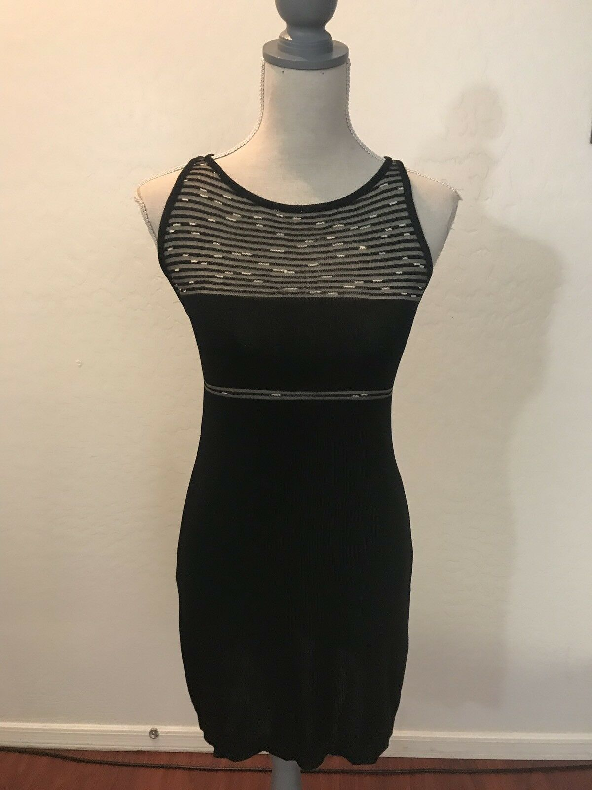 Nora Attalai Paris Mini Knit Dress Size P