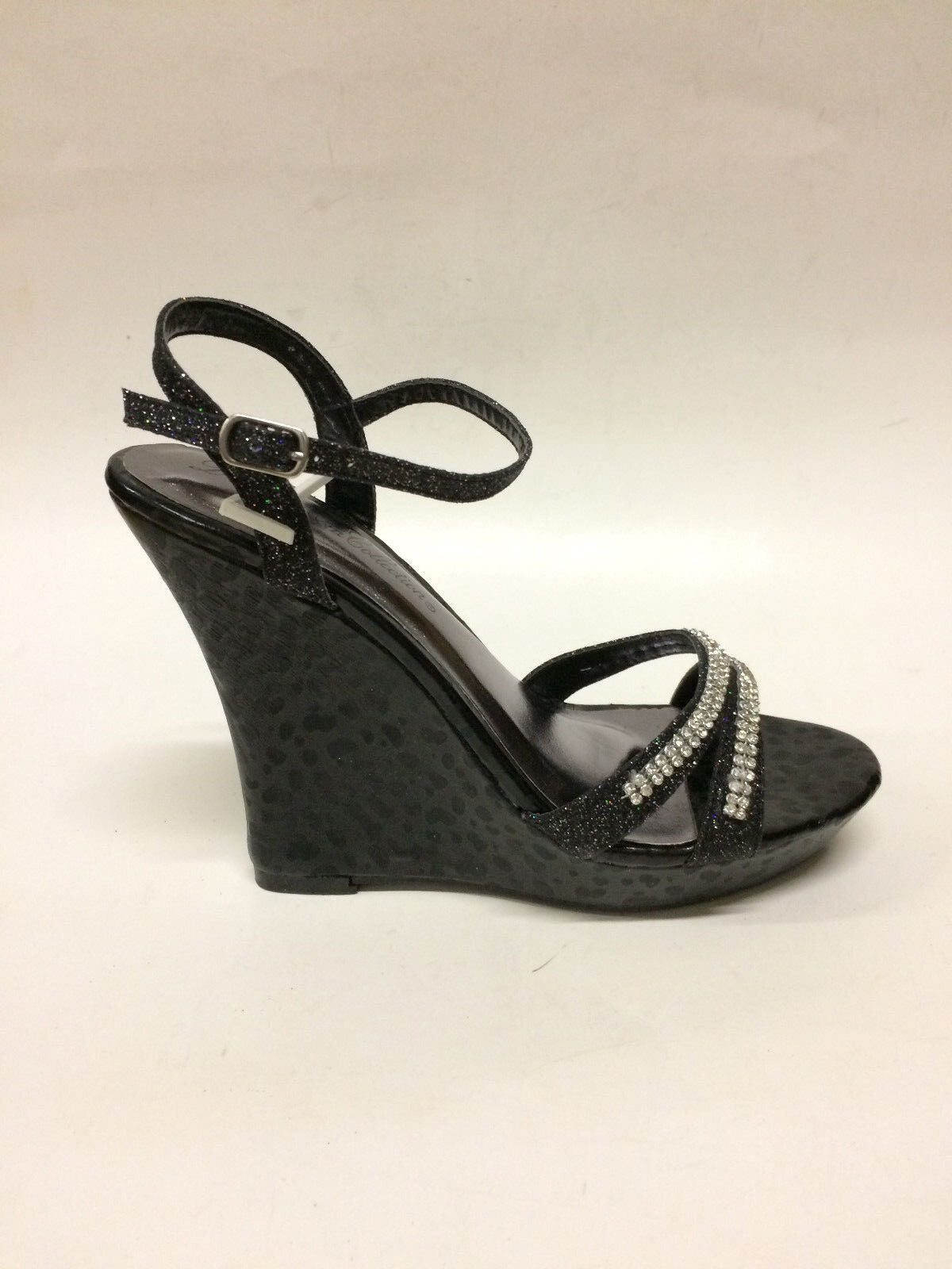 De Blossom Women's Buckle Latch Black Heels, Hifi-4, Black Latch 38bacf