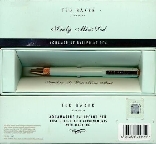 Ted Baker London Ballpoint pen various colours NEW Pretty In Pink Truly Min Ted