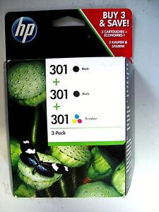3x-ORIGINAL-HP-DRUCKER-PATRONE-DESKJET-3057A-3059A-Envy-4500-4504-OfficeJet-2620
