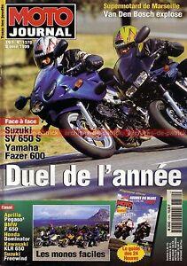 MOTO-JOURNAL-1370-SUZUKI-XF-650-Freewind-HONDA-NX-Dominator-APRILIA-PEGASO-1999
