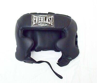 Everlast Boxing Headgear Safety Head Guard Helmet Punch Protector MMA Box Combat