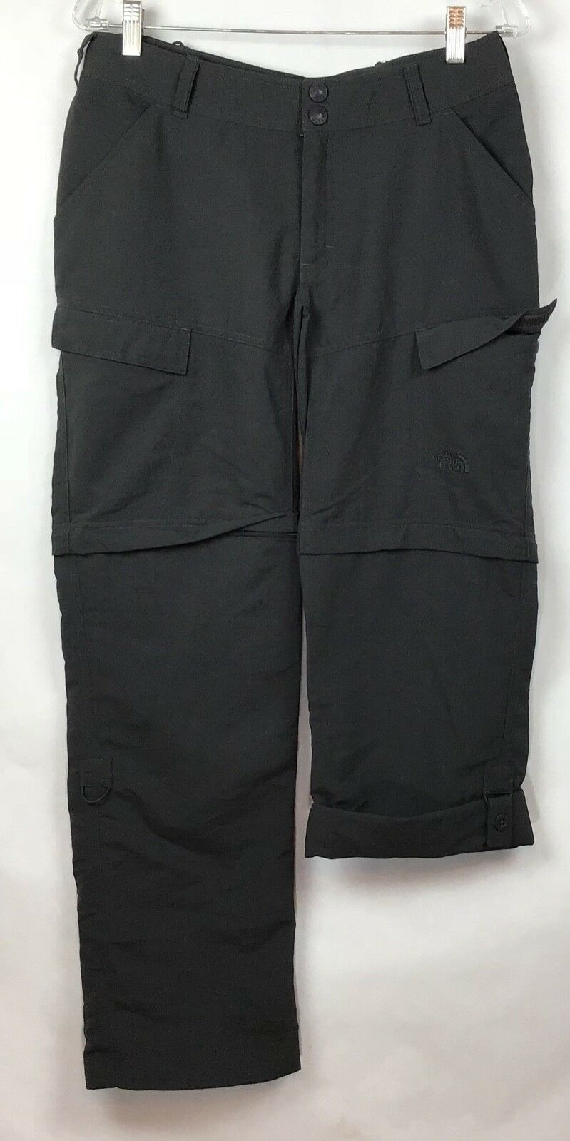 The North Face Womens Sz 8 Paramount Peak Congreenible Hiking Pants Zip Legs NWT