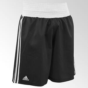 Boxing-Shorts-von-Adidas-Boxen-Kickboxen-MMA-K1-In-rot-blau-und-schwarz