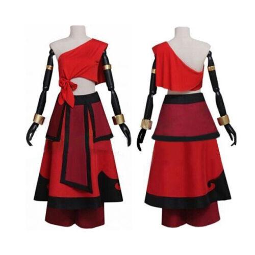 Movie Avatar The Last Airbender Katara Women/'s Cosplay Costume Fancy dress