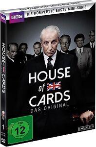 c6ef5c4c666e44 2 DVD-Box ° House of Cards - Staffel 1 ° NEU   OVP °  Mini-Serie ...