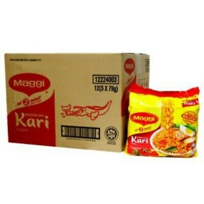 MAGGI CURRY - INSTANT NOODLES ( ORIGINAL FROM MALAYSIA )