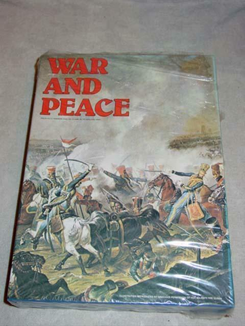 Avalon Hill 1980 - WAR and PEACE game - Napoleonic Wars  1805-1815 (SEALED)