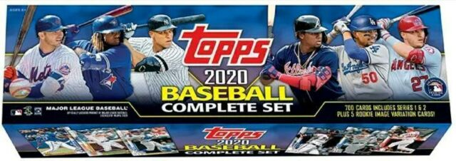 2020 Topps Baseball Complete Set Factory Sealed Retail Edition