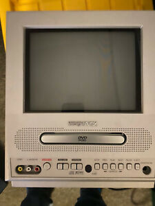 "Magnavox 13"" Color TV And DVD Player Combo, MWC13D5 Untested"