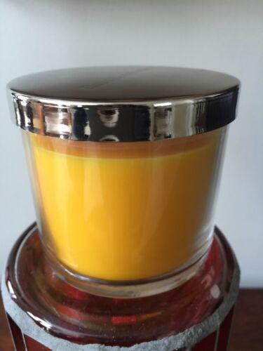 4 OZ BATH /& BODY WORKS TWISTED CARAMEL GELATO SMALL CANDLE WITH COFFEE /& VANILLA