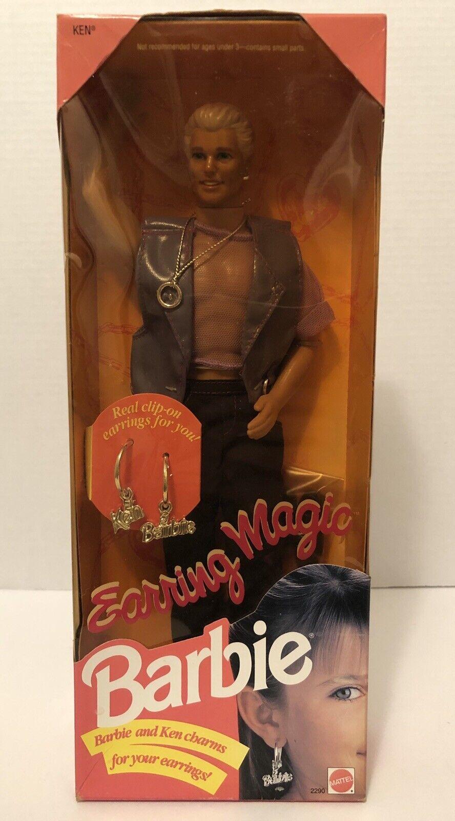 Mattel 2290 Earring Magic Ken Doll 1992 For Sale Online Ebay