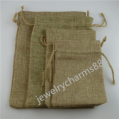 4 KINDS SIZE Burlap Bags Gift Favor Bags Party Keepsake & Collectibles Jewelry