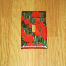 SPRING FLOWERING TULIP TULIPS PLANTS FLOWERS LIGHT SWITCH COVER PLATE