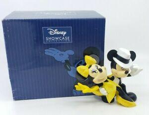 Disney-Enesco-Showcase-Dancing-Mickey-and-Minnie-Mouse-Figurine-Salsa-w-Box