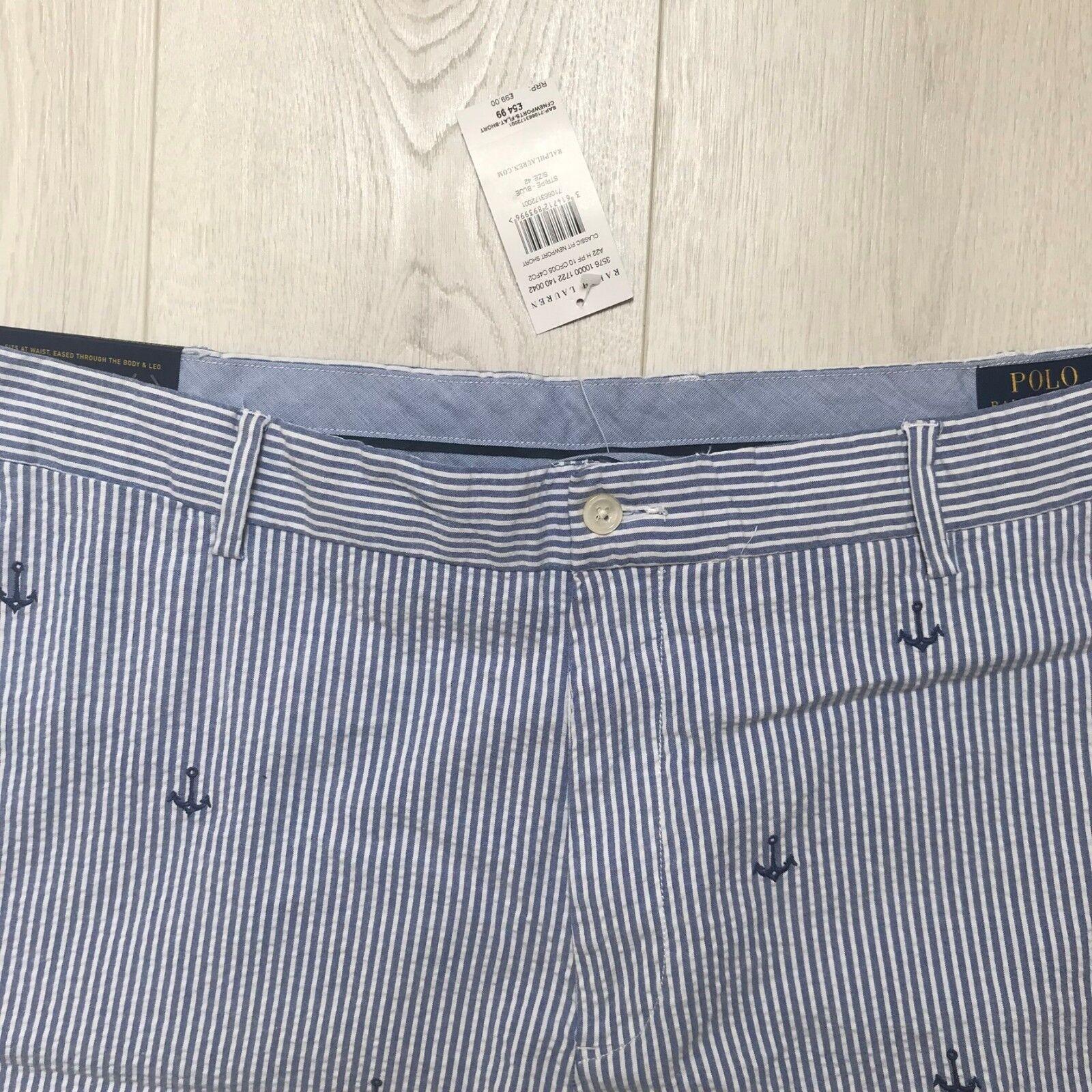 NUOVO POLO RALPH LAUREN Pantaloncini Pantaloncini Pantaloncini Da Uomo Rrp  Taglia W42 100% autentico NUOVO CON ETICHETTA fb1890