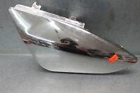 New Mini Chinese Pit Dirt Bike Left Side Cover Panel Plastic Shroud Silver
