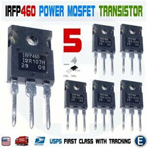 10 Stücke IRFP460 20A 500 V Power Mosfet N-Kanaltransistor TO-247 oy