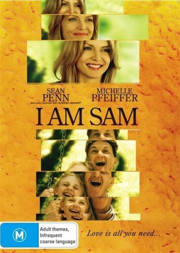 1 of 1 - I Am Sam (DVD, 2007) Sean Pean Michelle Pfeiffer - (Box D147)