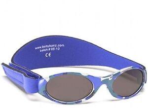 Kidz-Banz-Camouflage-Bleu-Lunettes-de-soleil-100-Protection-UV-Garcon-Fille-2-5-ans-valeur-000932