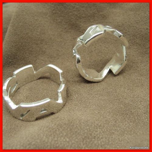 1 Paar Eheringe Trauringe als Namensring in 925er Silber NEU Freundschaft