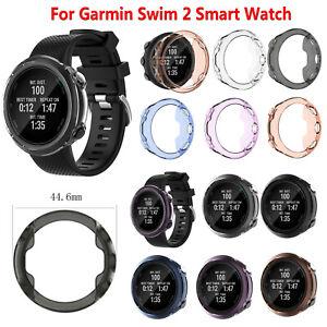 Para-Garmin-Swim-2-Smartwatch-TPU-Cover-Case-Protectora-Funda-Carcasa-Estuche