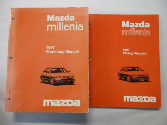 1997 Mazda Millenia Service Workshop Repair Manual