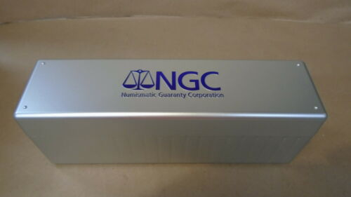 6 NGC Numismatic Guaranty Corporation Grading Certified Coin storage boxes Slab