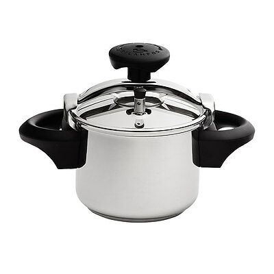 NEW Silampos Classic Stainless Steel Pressure Cooker 4.5L 22cm (RRP $219)