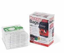 Item 6 10 X Genuine Pack Numatic Hepa Flo Vacuum Bags Henry Hoover Hetty James Nvm 1ch
