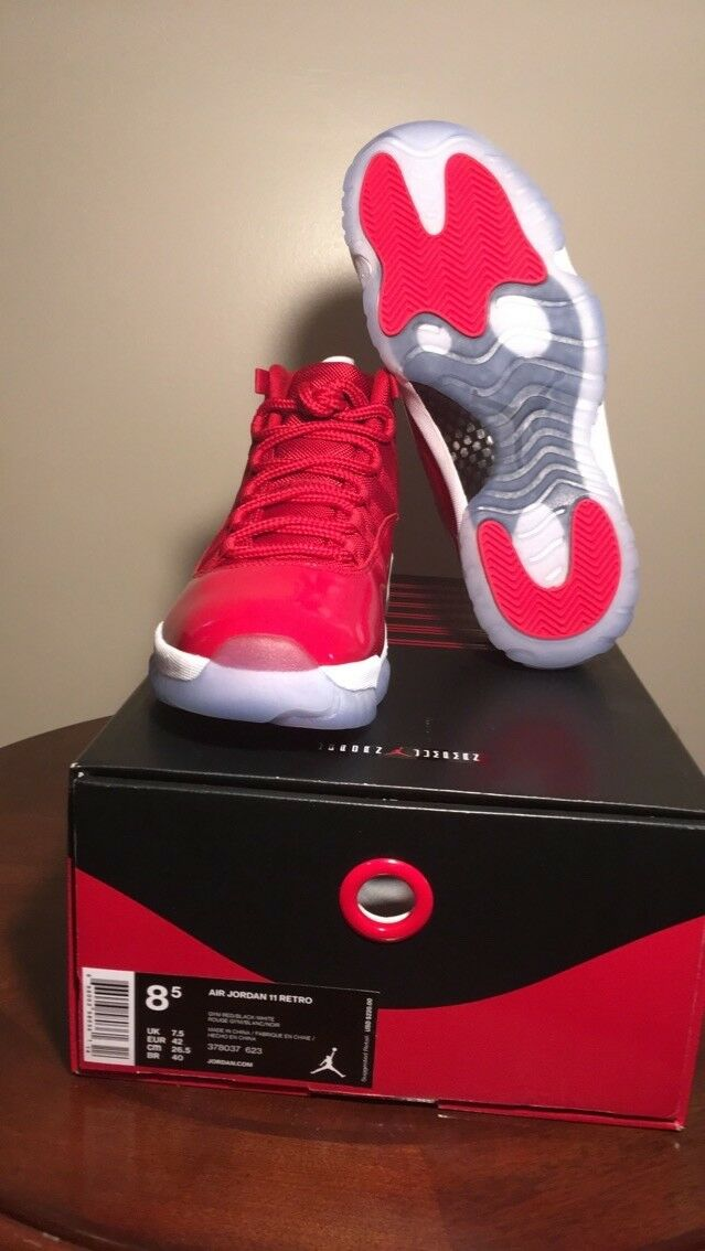 2b162d330ca jordan retro 11 Win like '96 size 8.5 Air neerbz2175-Men's Shoes ...