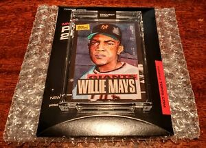 TOPPS PROJECT 2020 #101 WILLIE MAYS BY ROCHESTER SP PRINT RUN ONLY ~ 10568! #HOF