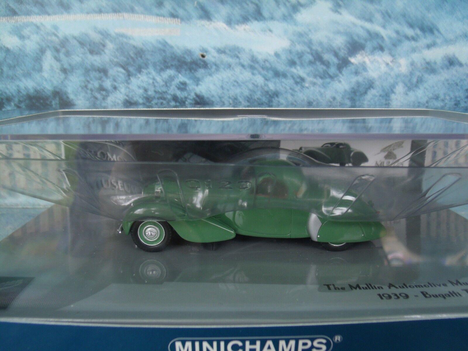 1 43 MINICHAMPS 1939 BUGATTI Type 57 C Coupé