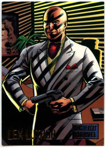 Lex Luthor #49 DC Versus Marvel Comics Trade Card C293