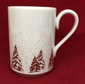 Image Is Loading Dansk Golden Pine Christmas Holiday Coffee Mug Cup
