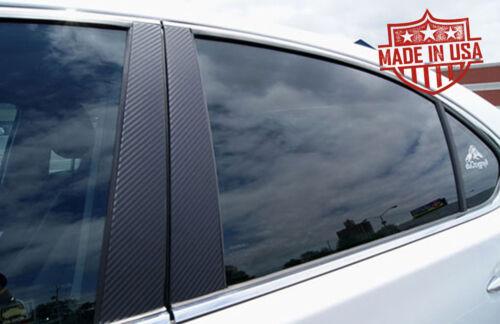 Fits Nissan Armada 04-12 Carbon Fiber Di-Noc Door Pillars B-Pillar Restyling Par