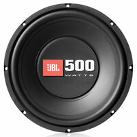 "1X JBL S2-1024 Subwoofer 1000 Watt 10"" WOOFER 2 or 4 ohm Car Audio Bass Speaker"
